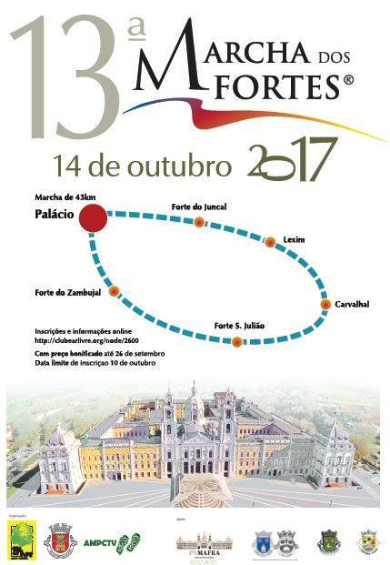 Cartaz Marcha dos Fortes