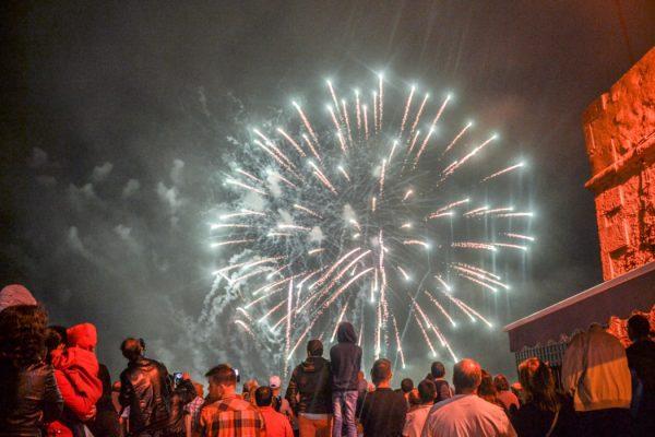Fogo-de-artifício Nossa Senhora Nazaré - ph. AZUL