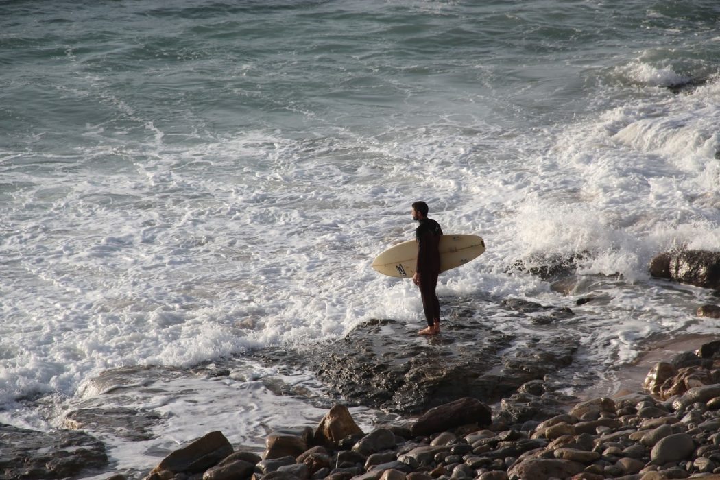 """""""Descobrira o surf há pouco tempo…"""""""