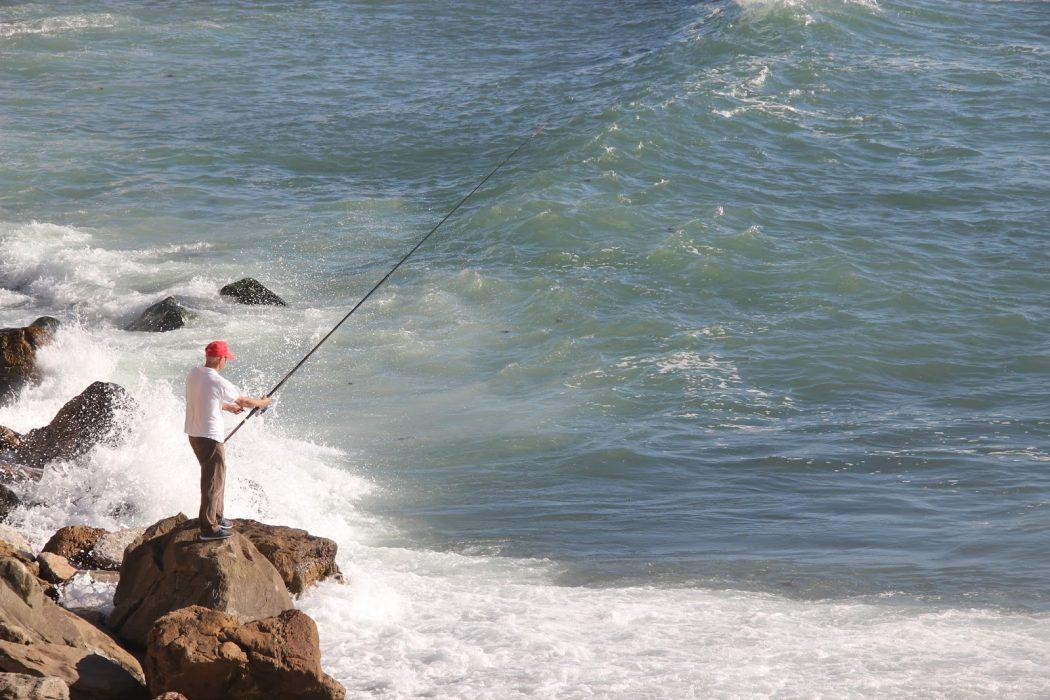 """""""Era a pescar que se sentia bem"""""""