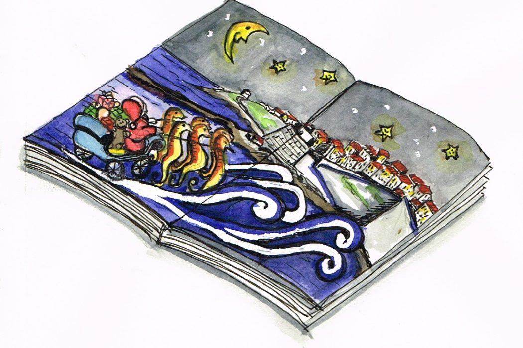 Livro Ericeira Natal - ilustração Sónia Nunes