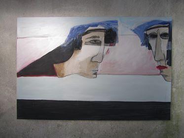 Pintura Abílio Febra - ph. DR