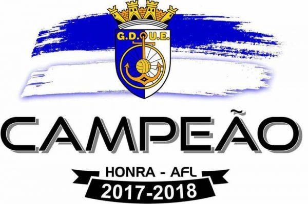 GDUE Campeão 2017-2018 - ph. DR