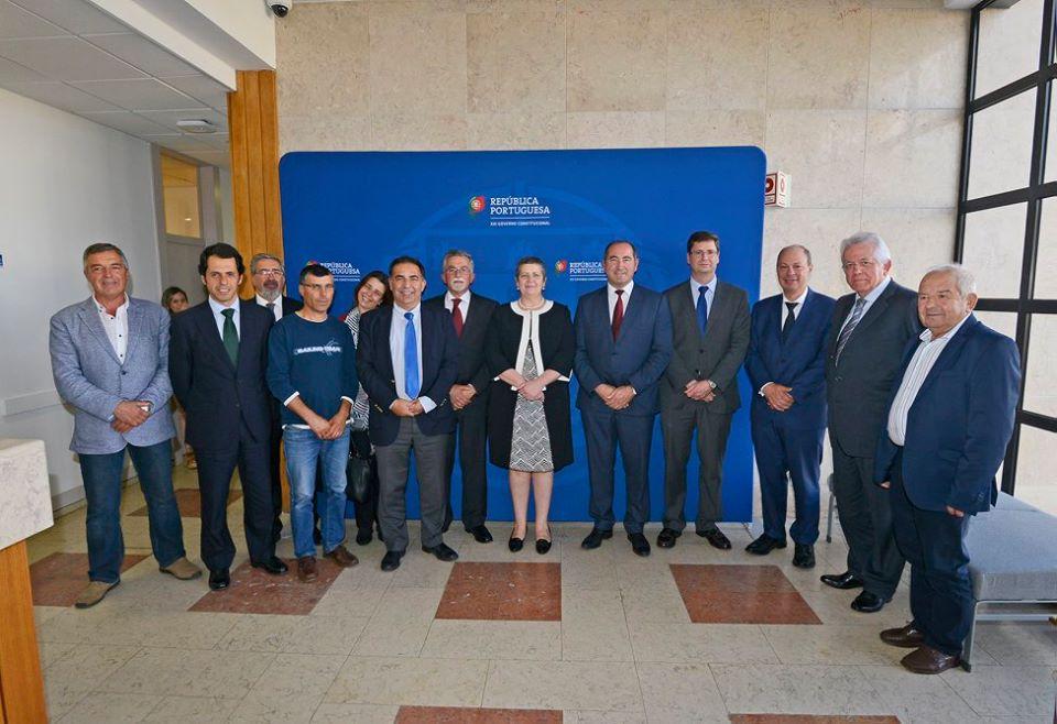 Cerimónia assinatura contrato e protocolo relativo ao Porto da Ericeira.