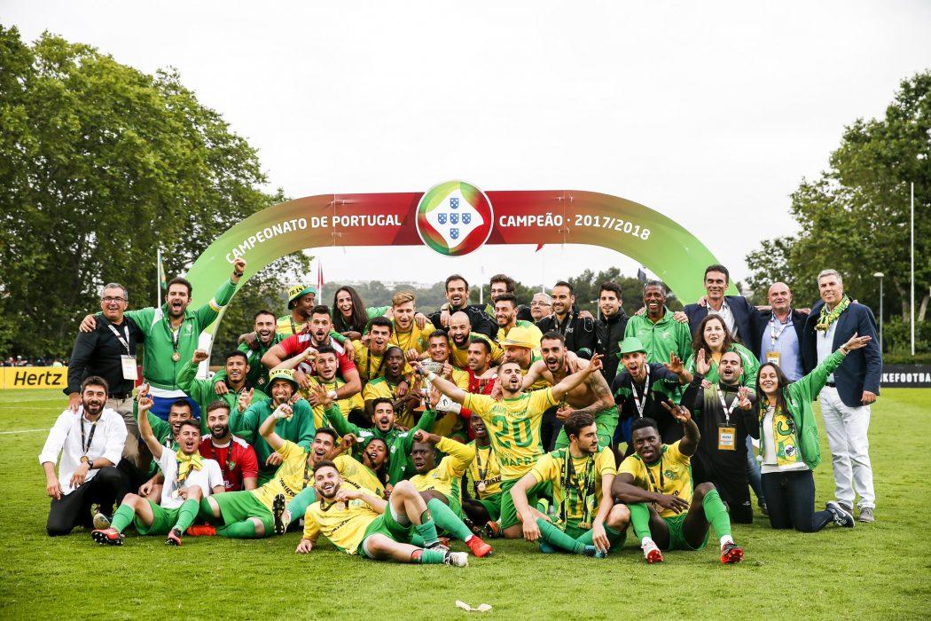 Clube Desportivo Mafra Campeão 2017-2018 - ph. Andrá Sanano / FPF