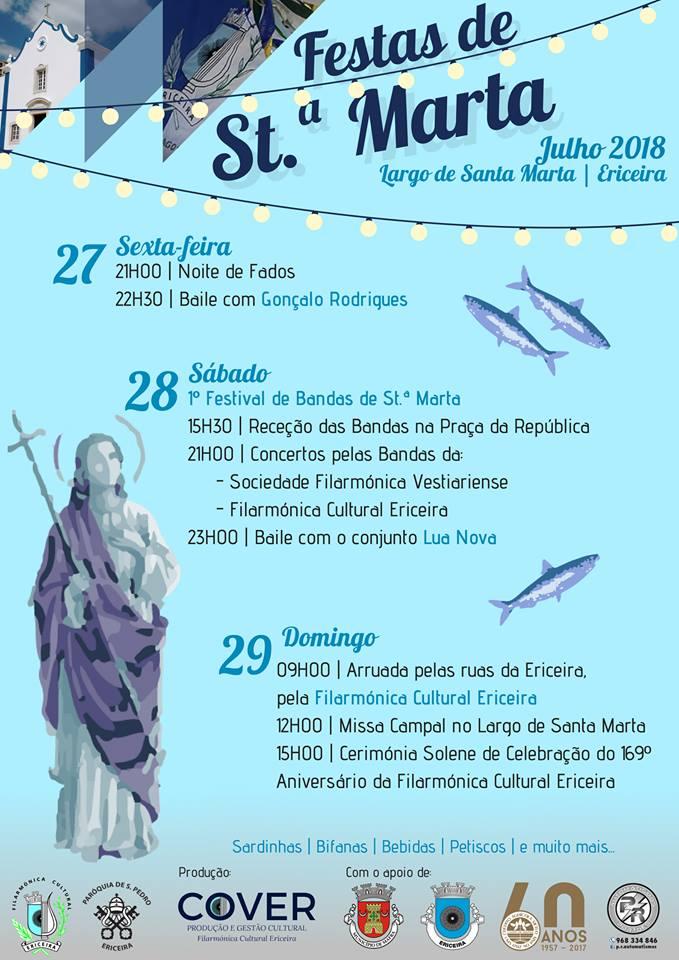 Festas de Santa Marta 2018