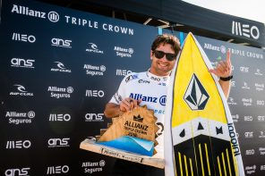 Gony Zubizarreta conquistou a Allianz Triple Crown na Praia Grande