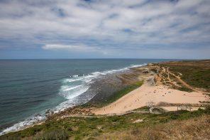 A pé entre Ribeira d'Ilhas e São Lourenço