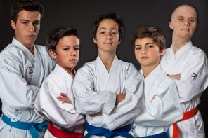 Núcleo de Karate da Ericeira no Campeonato da Europa de Goju Ryu