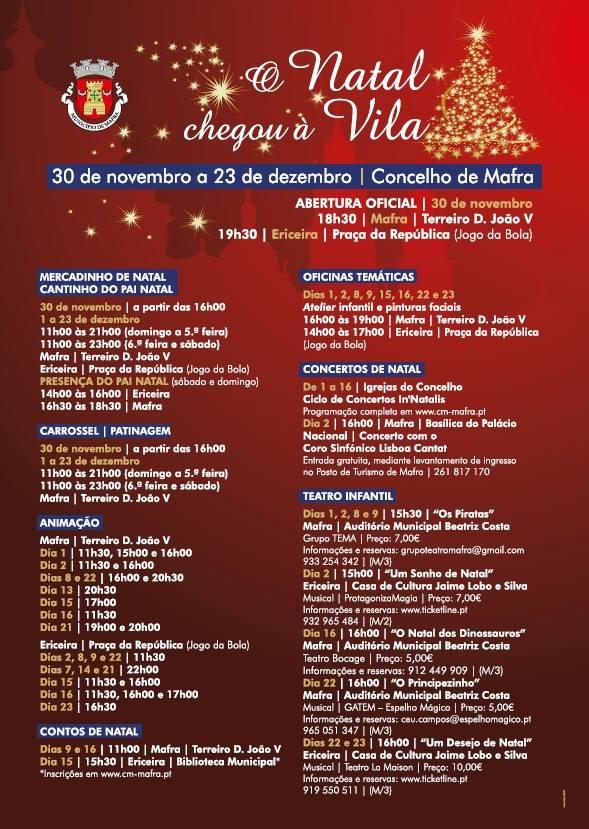 O Natal Chegou à Vila 2018