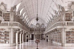 Biblioteca do Palácio de Mafra entre as mais belas do mundo