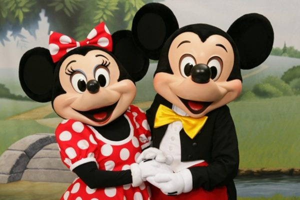 Mickey e Minnie Disney - ph. DR