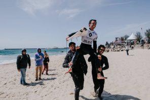 Tomás Fernandes lidera a Liga Meo Surf