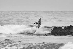 Ondas pequenas & grandes voos na 2ª etapa de Surf do ESC
