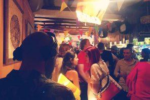 Slime regressa ao Adega Bar para fazer a festa