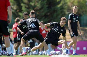 Bayern Munique vai treinar em Mafra