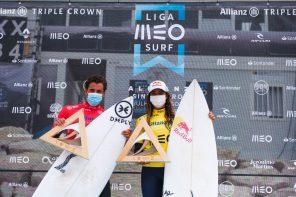 Vasco Ribeiro e Teresa Bonvalot vencem Allianz Sintra Pro