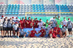 Petrony sagra-se bi-campeão europeu de Futebol de Praia com a Selecção Nacional