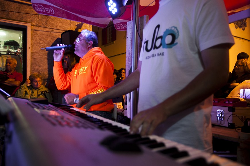 A música tradicional foi o prato forte dos arraiais. - ph. José Guerra