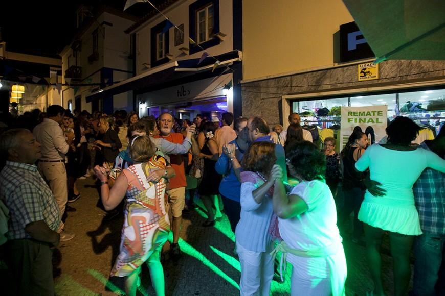 As festas juntaram locais e estrangeiros. - ph. José Guerra