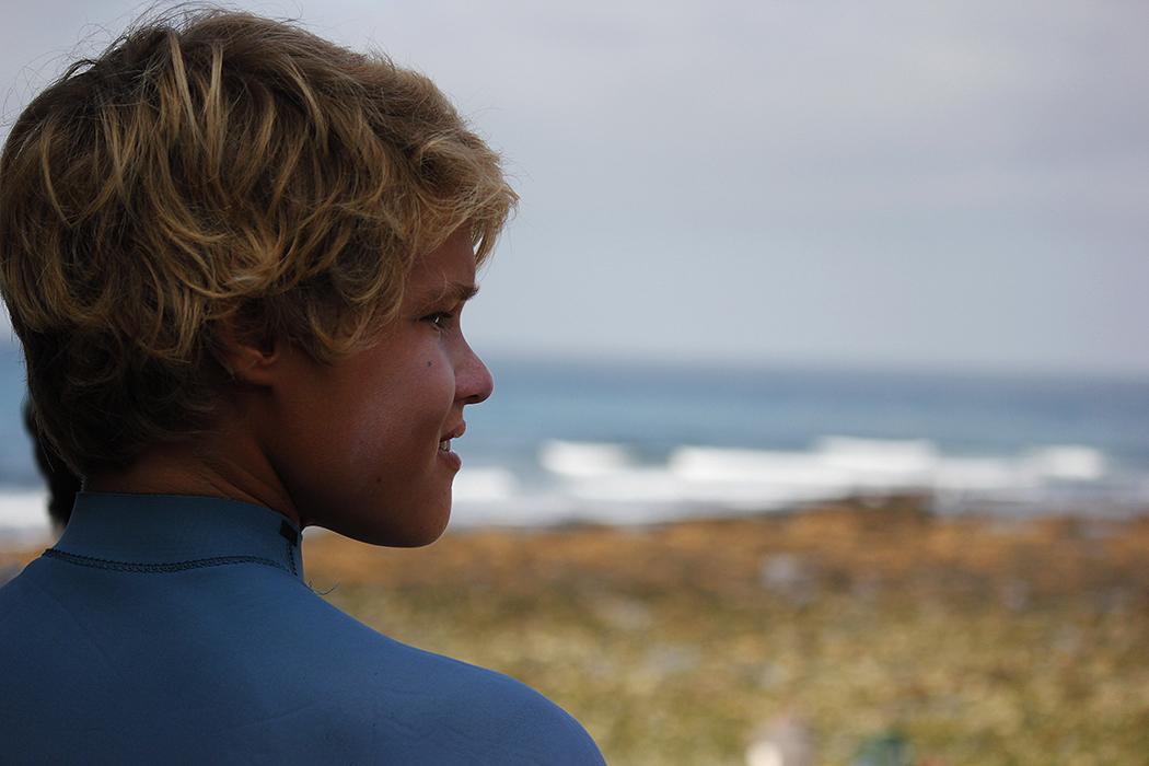 Um dos rostos do futuro do surf português. - ph. Francisco Rodrigues Claro