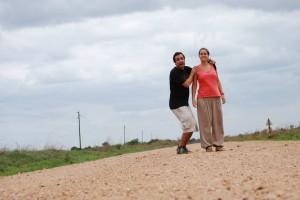 Pedro e Joana em Moçambique - ph. DR