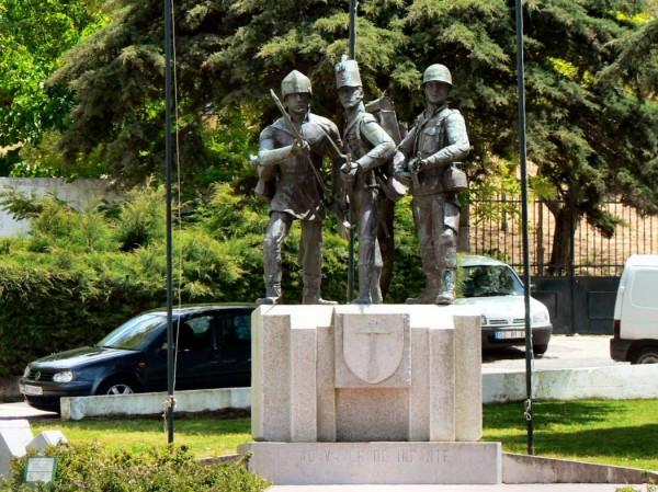 Monumento ao Soldado Infante. - ph. DR