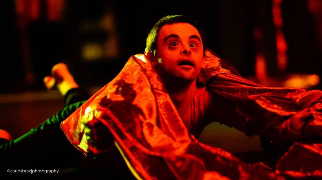 Um dos bailarinos da APERCIM.