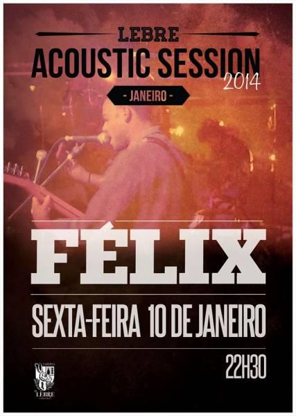Flyer Félix no Lebre - ph. DR