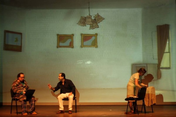 Teatro Sob Pressão. Epicuro. ph. - DR