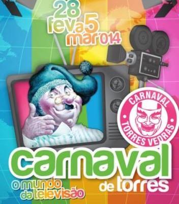 Cartaz Carnaval Torres - ph. DR