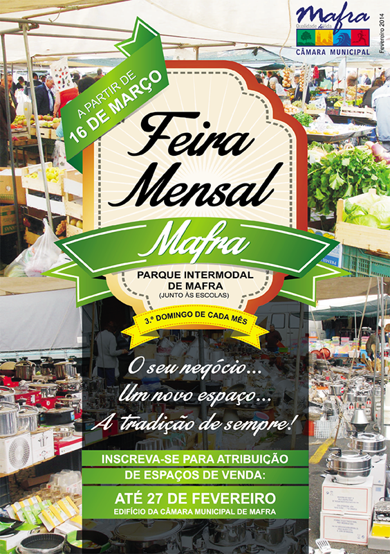 Feira Mensal de Mafra 2014. - ph. DR