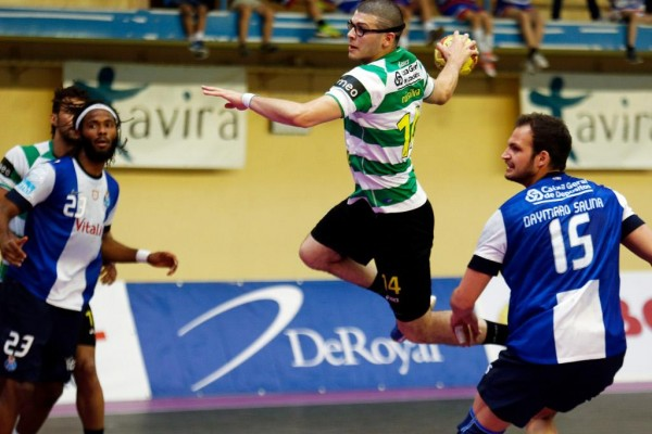 Sporting Porto andebol 2013. - ph. Lusa
