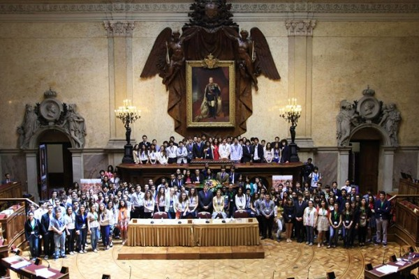 Parlamento dos Jovens. - ph. DR