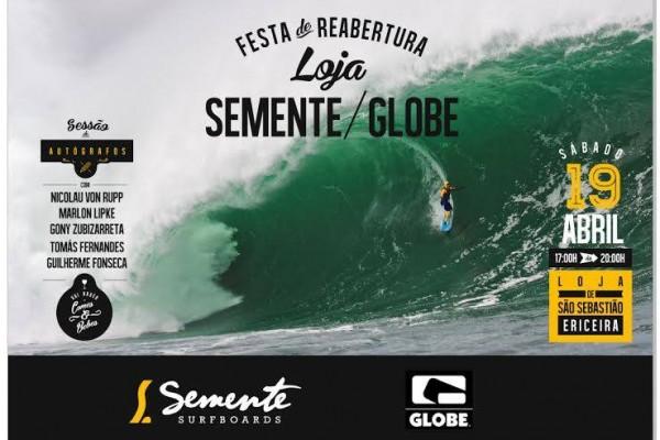 Reabertura loja Semente/Globe. - ph. DR