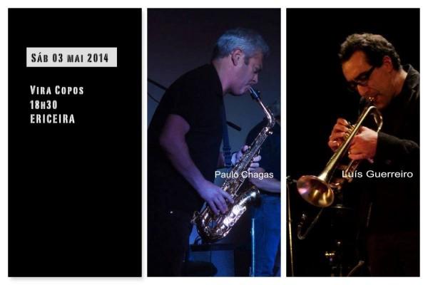 Paulo Chagas e Luís Guerreiro Jazz a Copo. - ph. DR