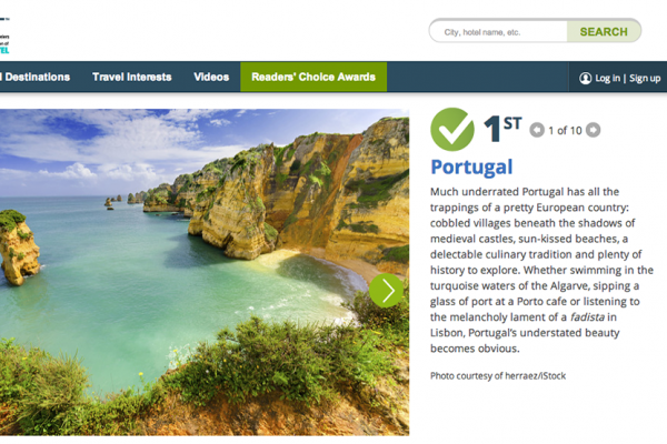 Portugal Portal 10 Best USA Today. - ph. DR