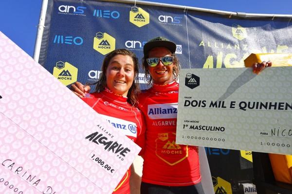 Nic Von Rupp e Carina Duarte no Algarve Pro 2014. - ph. Liga MOCHE