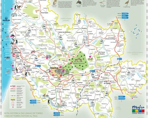 Mapa Concelho Mafra. - ph. DR