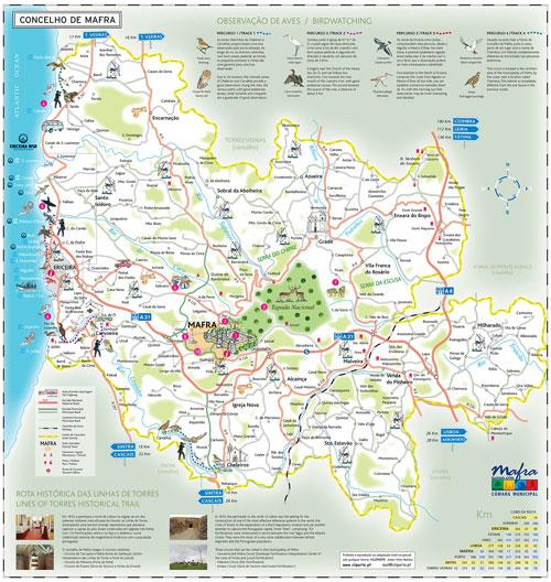 concelho mafra mapa Plano Director Municipal de Mafra em discussão pública até  concelho mafra mapa