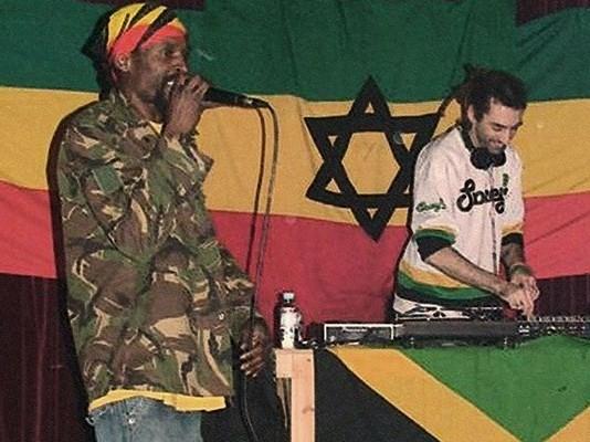 Bob Figurantes e Ras Damula. - ph. DR