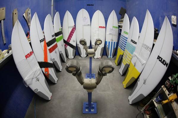 BPI Surf Boards Test 2014. - ph. DR