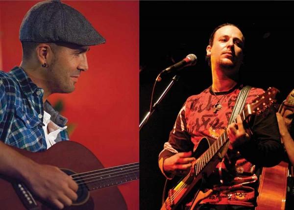 Luiz Caracol e Fernando Terra. - ph. DR