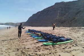 Escolas de surf não podem dar aulas durante o actual confinamento