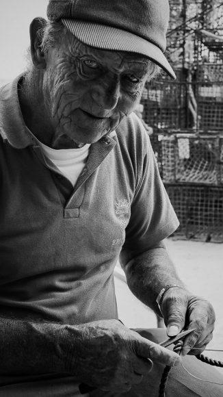 Pescador - Ph. Cátia Alpedrinha Caetano / Retratos em Família