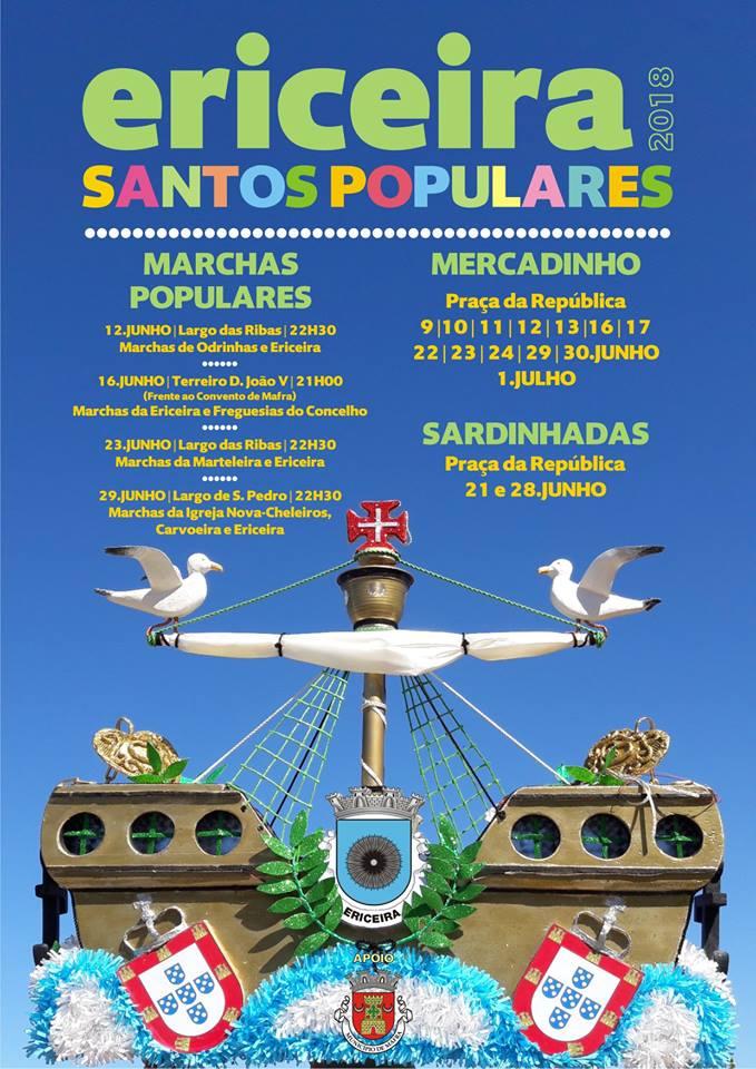Santos Populares 2018