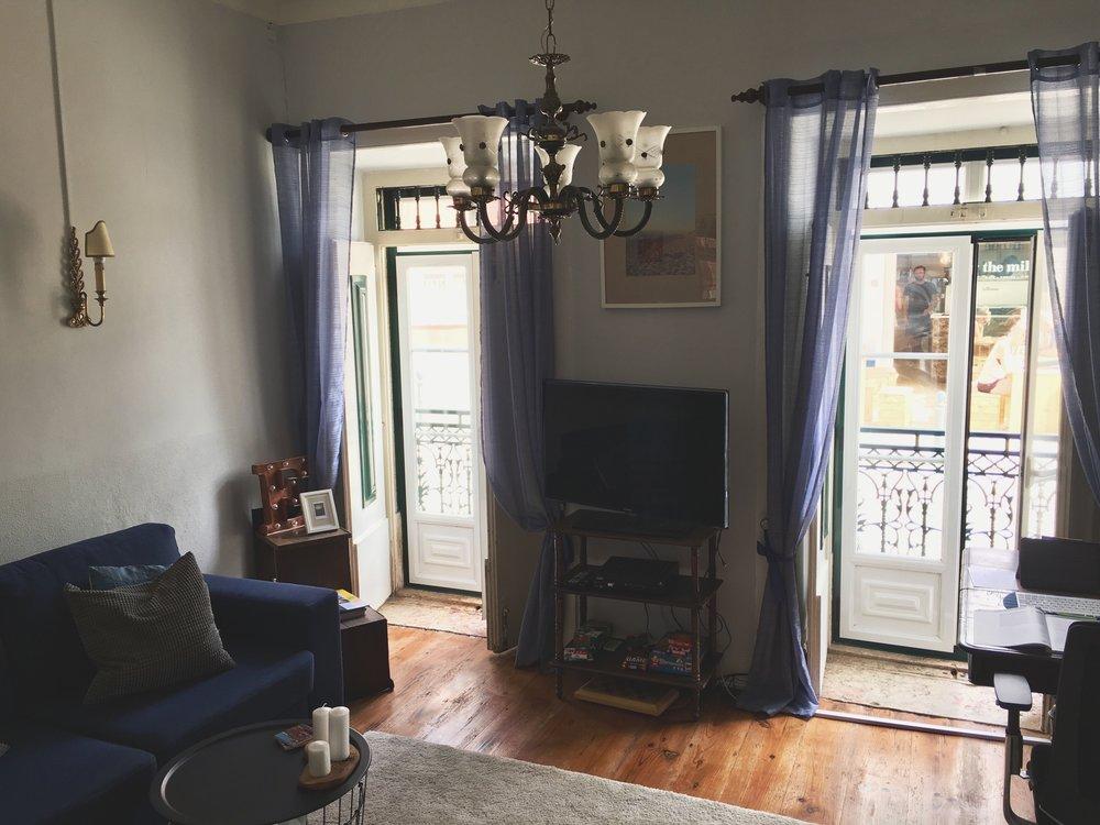 Emily's living room