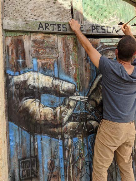 Pintura Artes de Pesca - ph. André Caré (8)