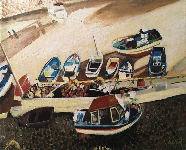 Barcos Pescadores - Viriato Rebelo